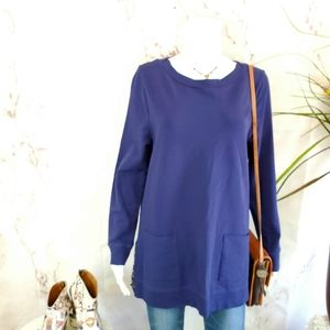 Soft Surroundings perfect pullover tunic sweater